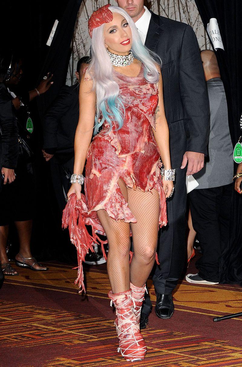 Lady Gaga's Meat Dress