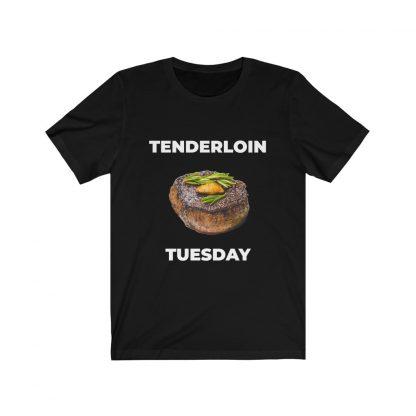 Tenderloin Tuesday Black T-Shirt