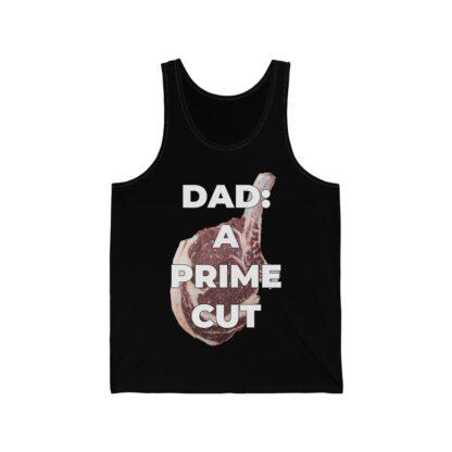 Dad: A Prime Cut Black Tank Top