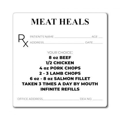 Meat Heals Magnet